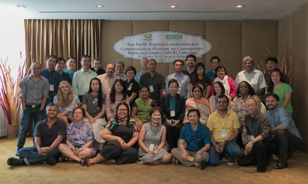 2016 APCRG Meeting: Gender, Access to Medicines, and CRG