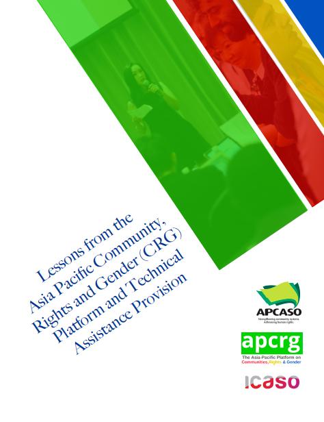 ICASO APCRG TA Report