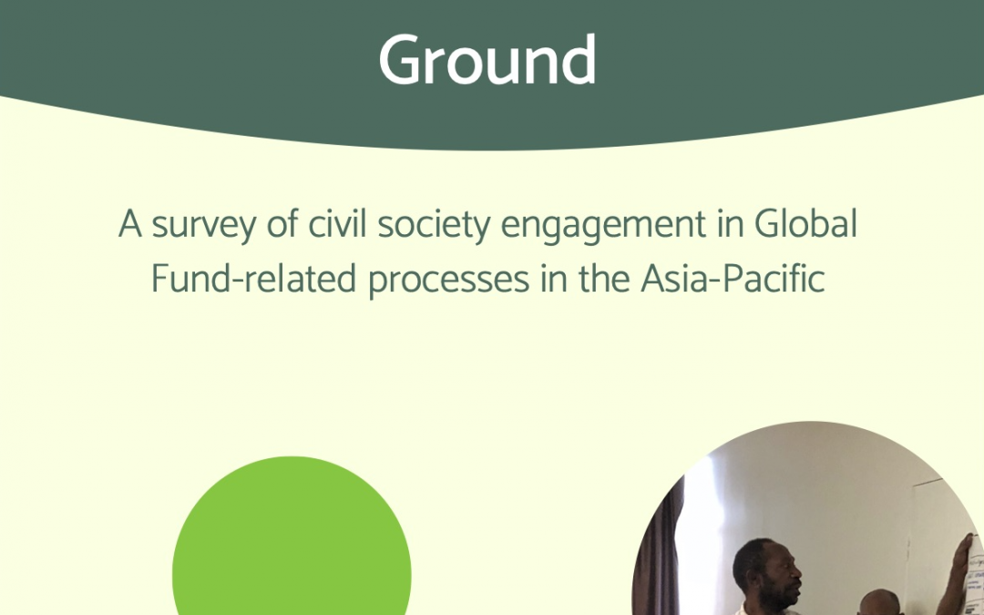 Launch of the Global Fund Realities on the Ground Report