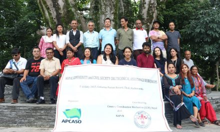 Towards Effective Inclusion of Nepali Communities in the Global Fund Processes