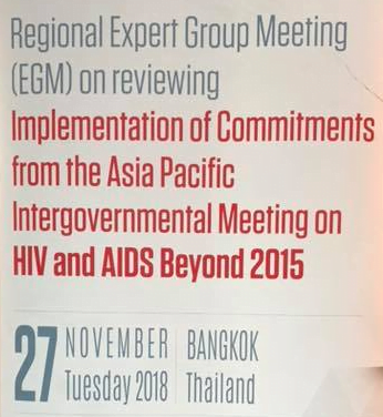 Prioritizing Civil Society and Key Population Community Participation at EGM on HIV/AIDS